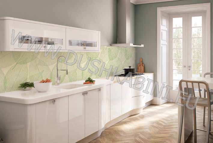 Стъклени плочки за гръб на кухня